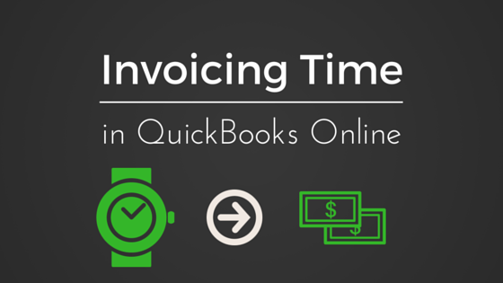 Invoicing Time in QuickBooks Online