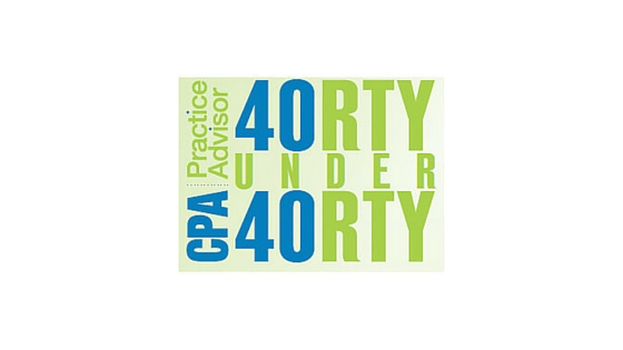 Cathy Iconis Named as a 2015 CPA Practice Advisor 40 Under 40 Honoree