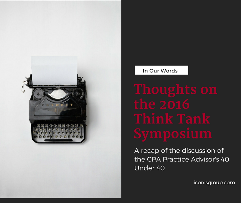 Thoughts on the 2016 Think Tank Symposium